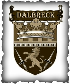 Coat of arms for the kingdom of Dalbreck from the REMNANT CHRONICLES by Mary E. Pearson