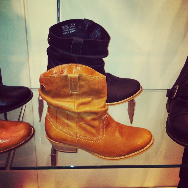 Countdown to Stampede - cowboy booties at Towne Shoes