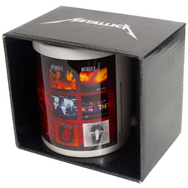 Official Metallica boxed ceramic mug featuring the albums design Officially Licensed Merchandise See all Metallica Band Merch or view more Coasters