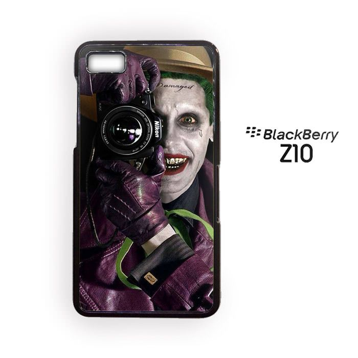 Joker Photograph and smile for Blackberry Z10/Blackberry Q10 Phonecases
