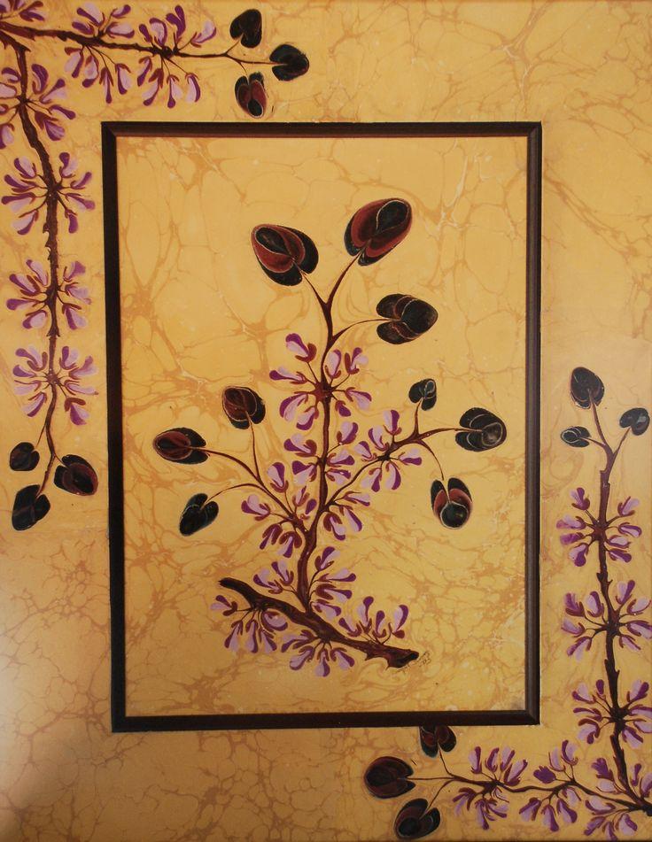 Erguvan  Flowers of marbling By Songül Sönmez