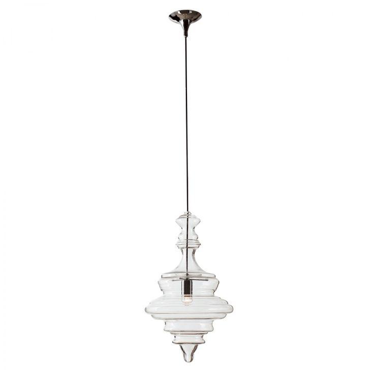 Sancerrer glass pendant large 59cm pendant lights lighting fans