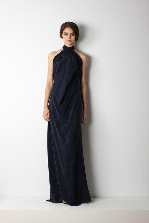 BOW DRESS LONG - TK CLASSICS