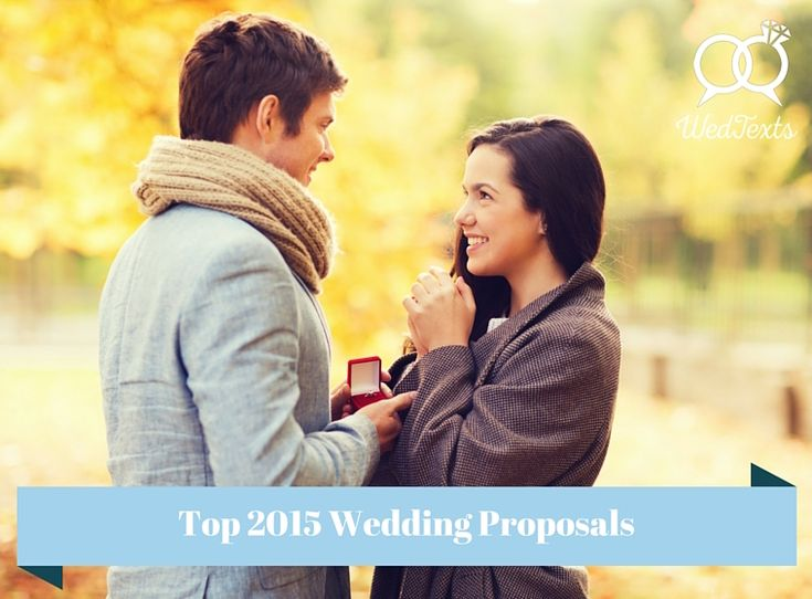 Top 2015 Wedding Proposal Videos!  See more at http://blog.wedtexts.com/top-2015-wedding-proposals/   #weddingproposal #engaged #proposalinspiration