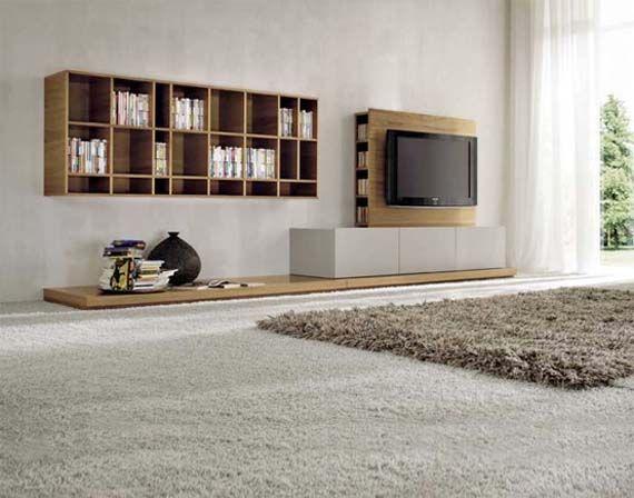 Detalle mueble tv