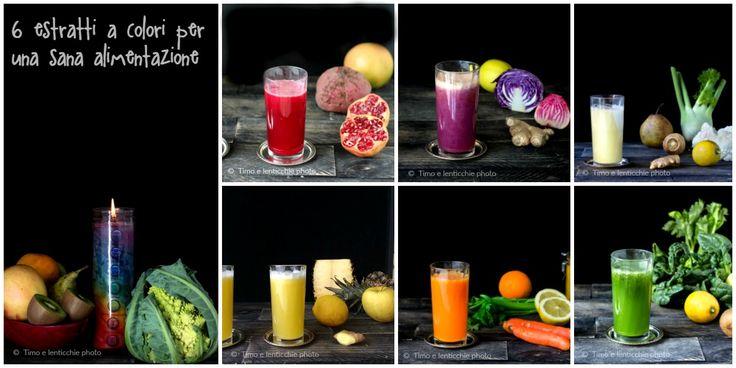 6 estratti a colori per una sana alimentazione