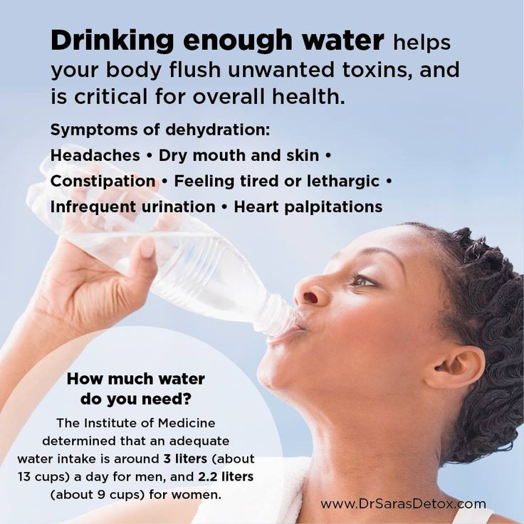 Benefits of drinking enough water. #DrSarasDetox #BenefitsOfWater #DrinkWater #HealthTips #HolisticApproach