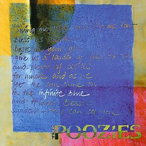 1998 Poozies – Infinite Blue, a group of four talented women – Mary McMaster and Patsy Seddon on harps, fiddle and vocals, Karen Tweed on accordion and vocals and Kate Rusby on vocals, guitar and fiddle. Available on iTunes and via our shop: https://www.purerecords.net/product/poozies-infinite-blue/