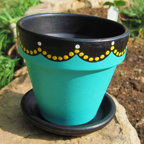 25 best ideas about painted flower pots on pinterest