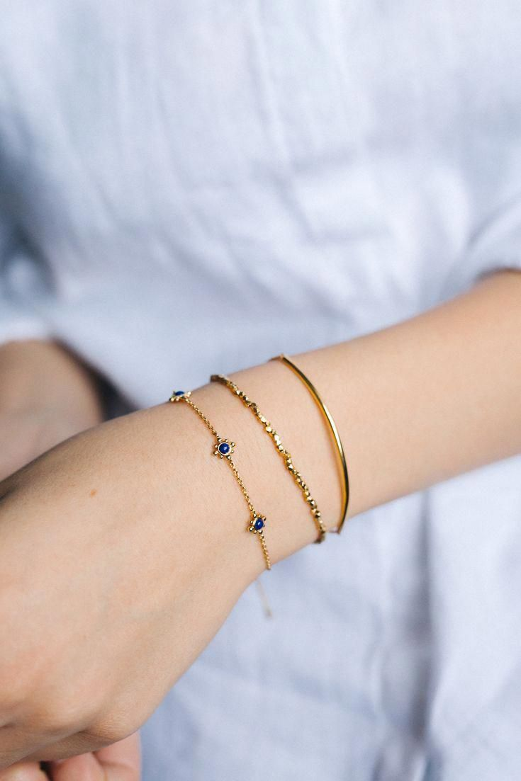 Stacking Bracelets Styling Inspiration MayisGoldMonth MIGM Gold