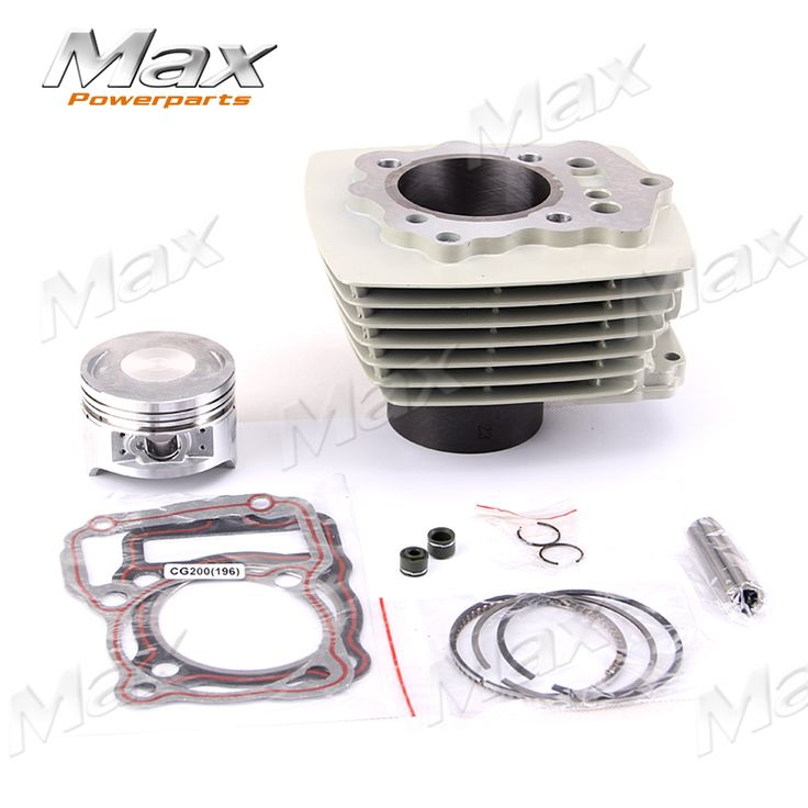 (72.88$)  Know more  - 200CC Air Cooled Cylinder Kit ZongShen Engine With Piston Ring Engine Gaskets Kayo Xmotos Apollo Tmax Pit Dirt Bike Parts