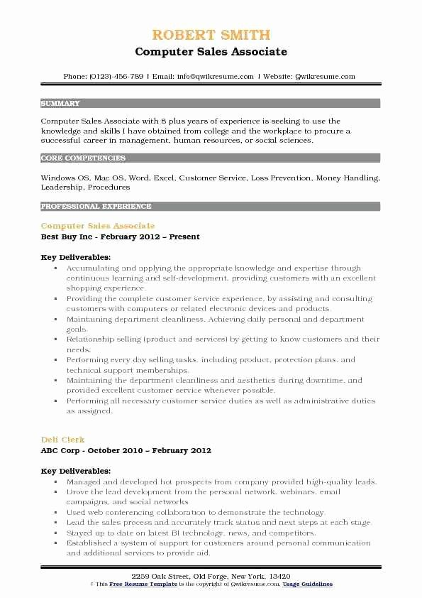 50 best of best buy sales associate resume in 2020