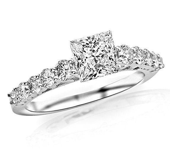 17 best Diamond Promise Rings images on Pinterest ...