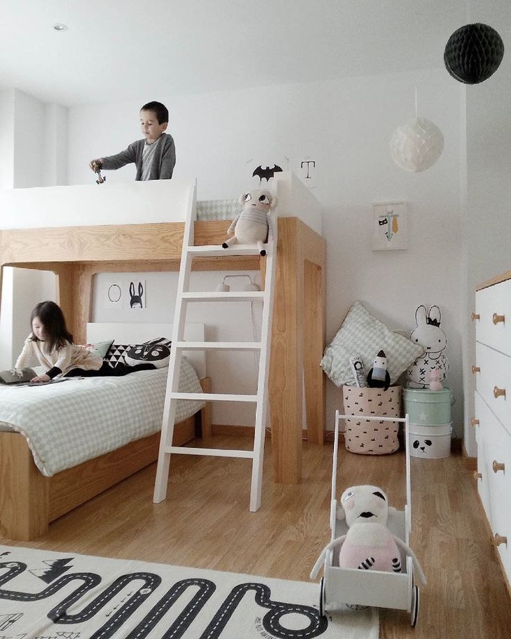 Les 25 meilleures idées de la catégorie Lit double mezzanine sur ...