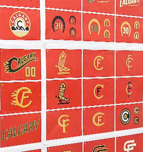 Calgary Flames Third Jersey Concept Logos