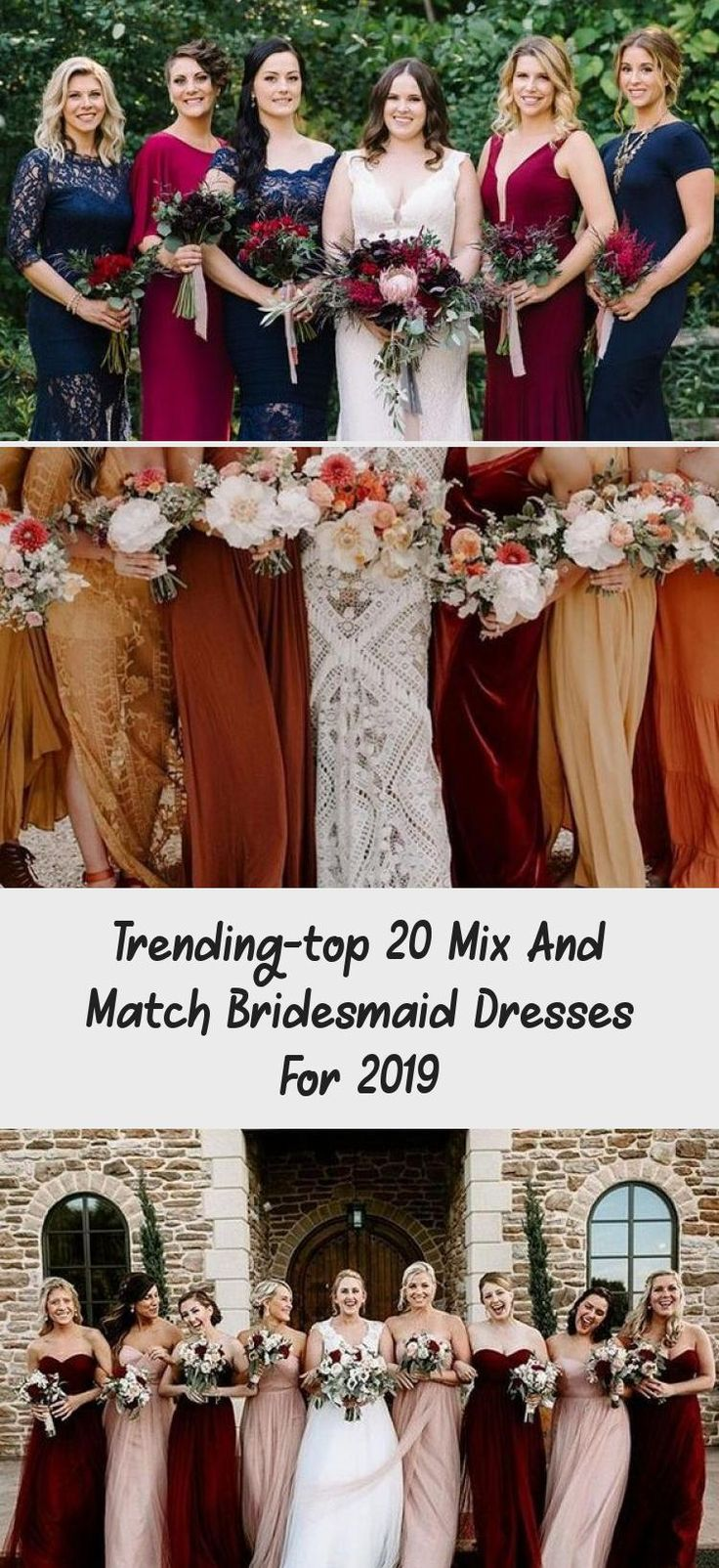 trending mix and match bridesmaid dresses for fall weddings #OffTheShoulderBridesmaidDresses #BridesmaidDressesLong #AfricanBridesmaidDresses #VelvetBridesmaidDresses #BridesmaidDressesColors