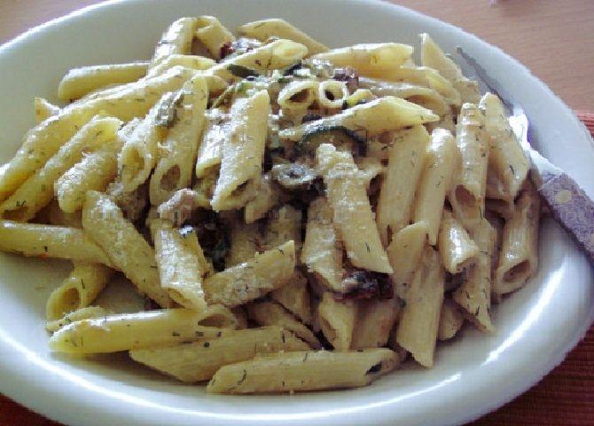 Paleo Cukkinis tészta recept
