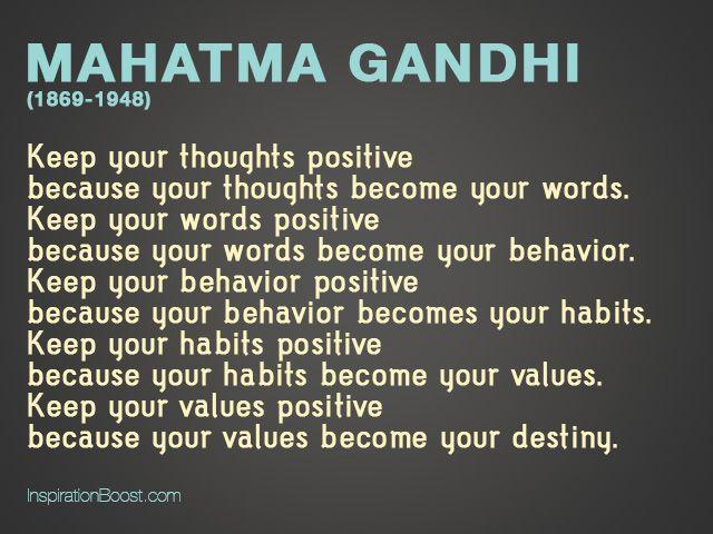 Mahatma Gandhi Life Quotes | Inspiration Boost | Inspiration Boost