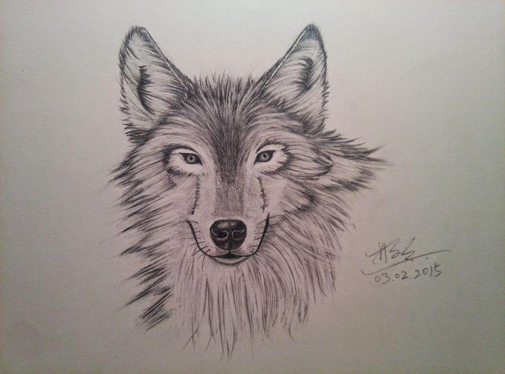 Wolf by XuemingLin.deviantart.com on @DeviantArt