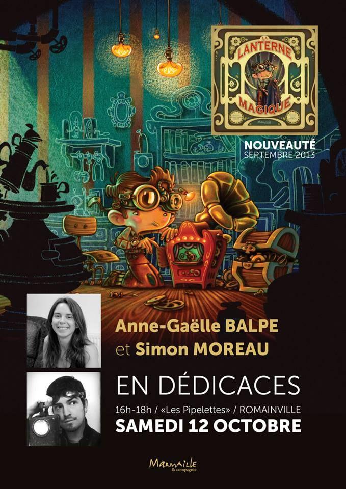 Anne Gaëlle Balpe et Simon Moreau