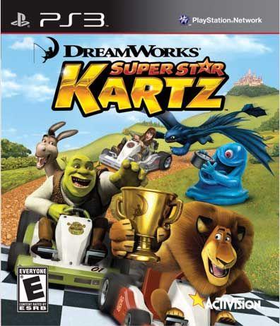 DreamWorks Super Stars Kartz - Everyone - PS3
