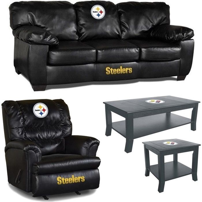 [[start Tab]] Description The Pittsburgh Steelers NFL Fanatic Fan Cave Set  Includes