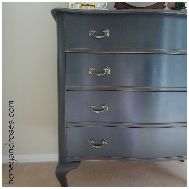 Best 25  Bedroom chest of drawers ideas on Pinterest Bedroom Chest of Drawers Makeover using AS Graphite and dark wax . Drawers For Bedroom. Home Design Ideas