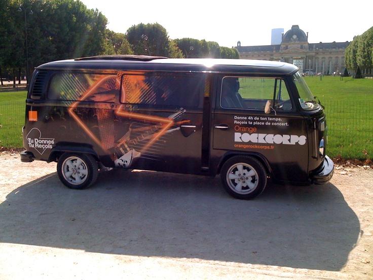 Rockcorps mobile sound recording studio (VW) by Delasource