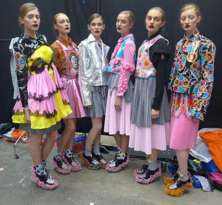 graduate collection, natalie dawson manchester school of art, london graduate fashion week
