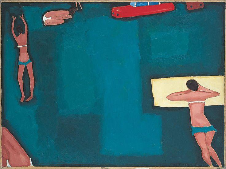 Jerzy Nowosielski, Weekend, 1966, 60 x 80 cm, olej/płótno, Fundacja Nowosielskich