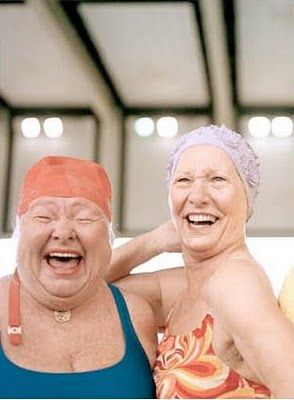 No idea who these Bathing Beauties are but I love them. I wanna be that joyous at that age....
