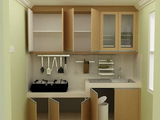 Konsep Dapur Dengan Ruang Yang Sempit My Interior In 2018 Pinterest Kitchen Sets And Home Decor