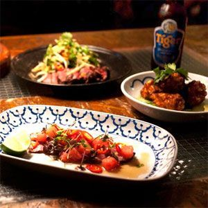 fusing an eclectic style of street food with a traditional Asian touch http://bit.ly/1cXRGe1