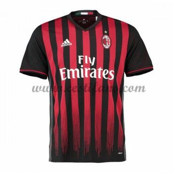 AC Milan Fotbalové Dresy 2016-17 Domáci Dres