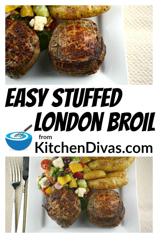This Easy Stuffed London Broil Recipe Should Be On Every Meat Lovers Bucket List So Flavorful Onl London Broil Recipes London Broil Delicious Healthy Recipes