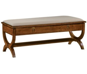 Chestnut  Bed Bench At Deets Furniture Store