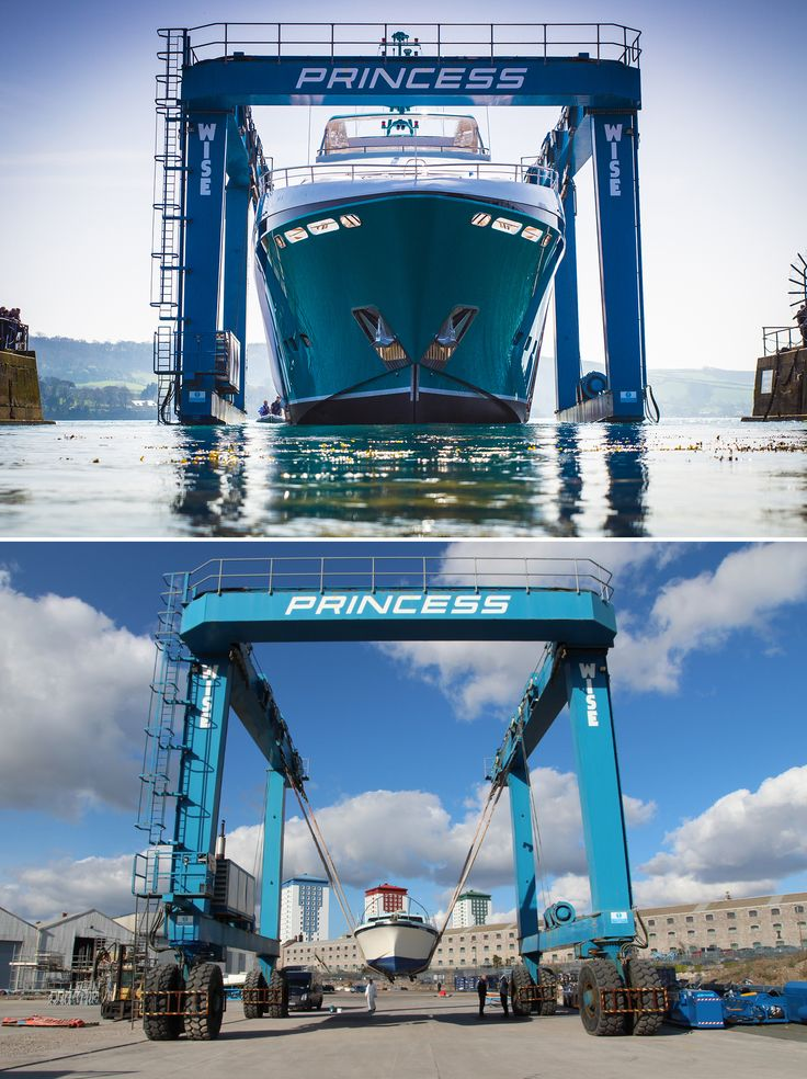 Princess Yachts Flagship Superyacht The 40M Versus Companys First Model Project