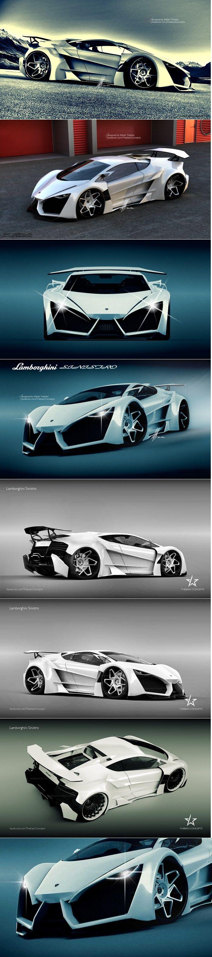 Lamborghini Sinistro concept         Found on -http://wonderpiel.com/