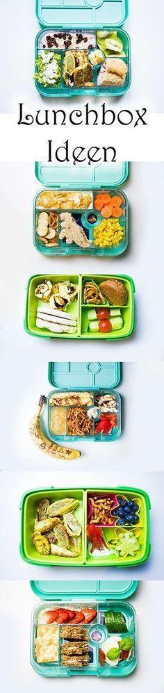Lunchbox Ideen für Kindergarten- und Schulkinder | Brotdosen für den Ausflug oder das Picknick | Vielleicht auch das perfekte Schulbrot?