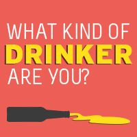 Discover what kind of drinker you are - take the quiz! An interactive quiz from Vic Health