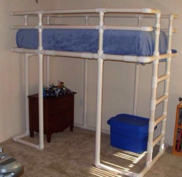 PVC bunk bed or space saver