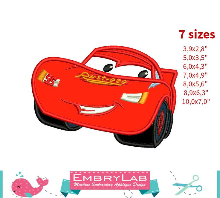 46 Best Disney Cars Embroidery Designs Images On Pinterest