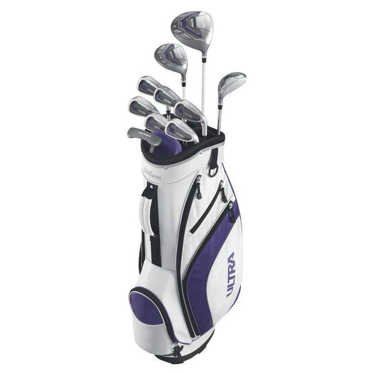 Wilson Golf Clubs, White, Golf Clubs