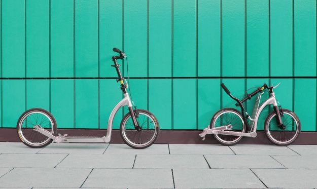 SwiftyONE MK3 folding commuter scooter with 16inch wheels
