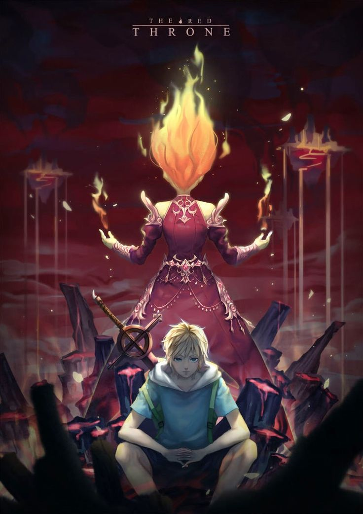 - Adventure Time - Finn and Flame Princess