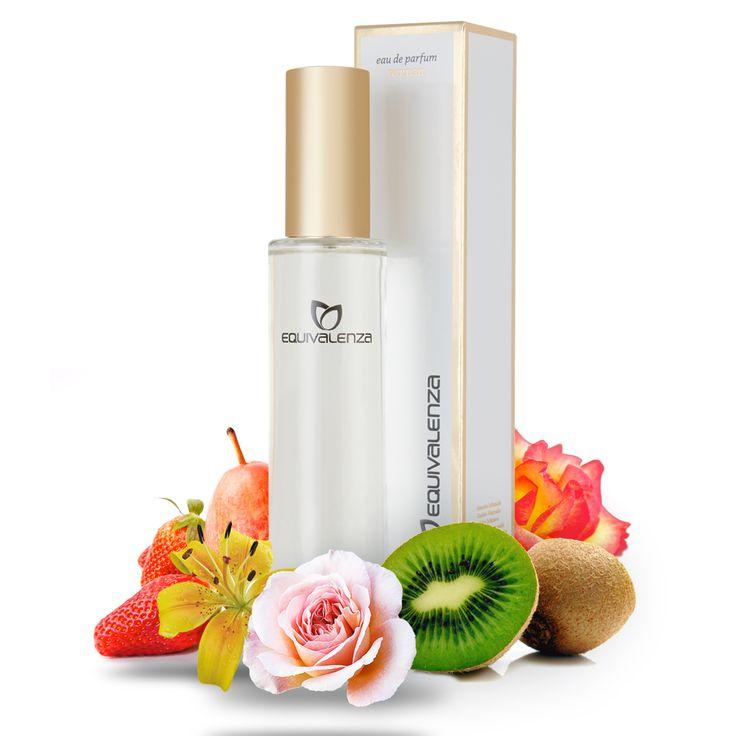 La familia Floral con notas frutales te sorprenderá con sus fragancias jugosas y chispeantes   #Equivalenza #perfume