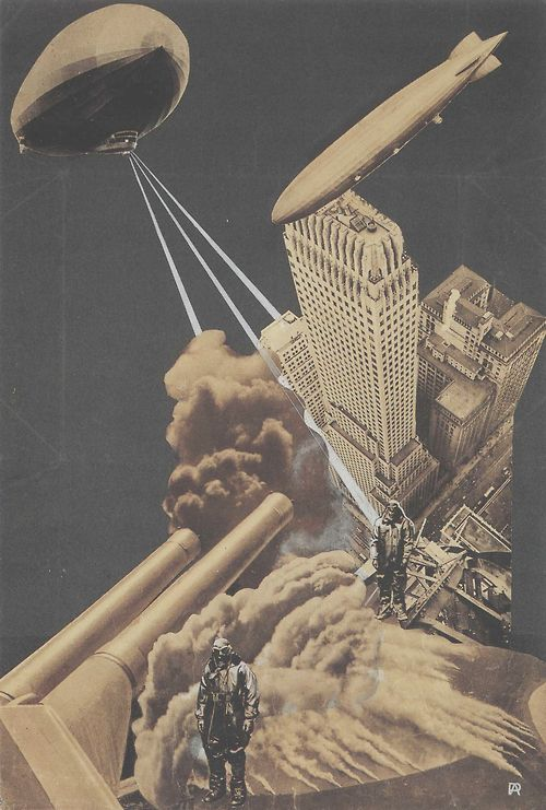 Alexander Rodchenko - War of the Future, 1930