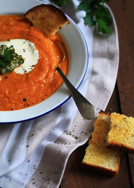 pumpkin tomato soup
