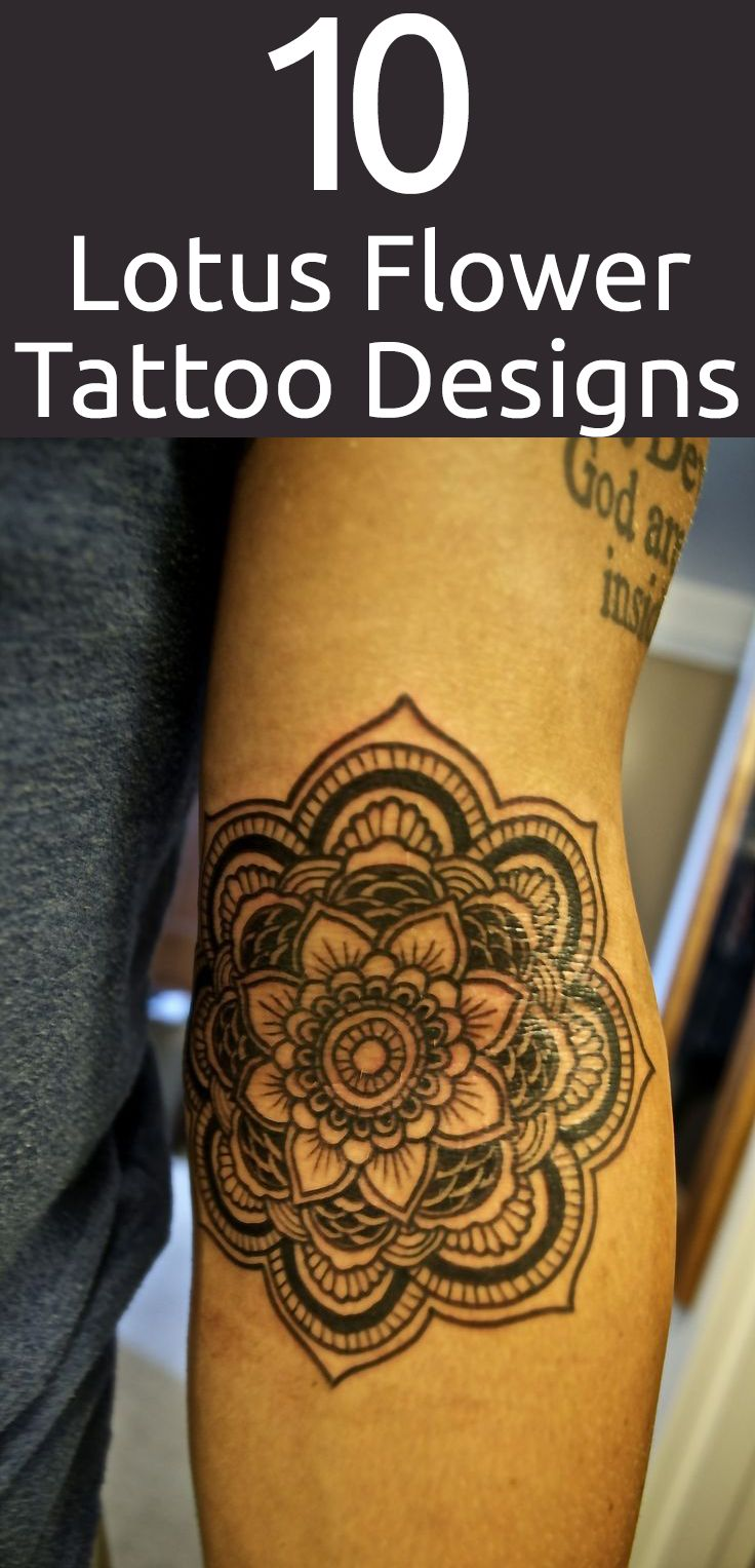 80 crazy and amazing tattoo designs for men and women desiznworld - Top 10 Lotus Flower Tattoo Designs
