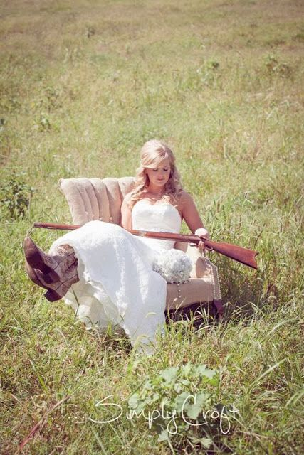 Reupholstered chair with burlap and pearls for barn wedding